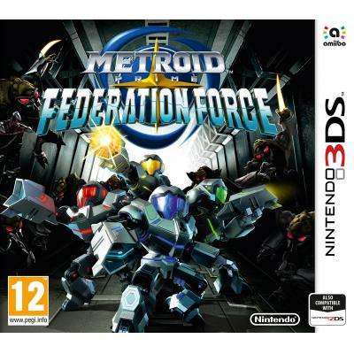 Nintendo game: Metroid Prime, Federation Force  3DS