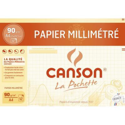Canson millimeterpapier: 200067115 - Geel