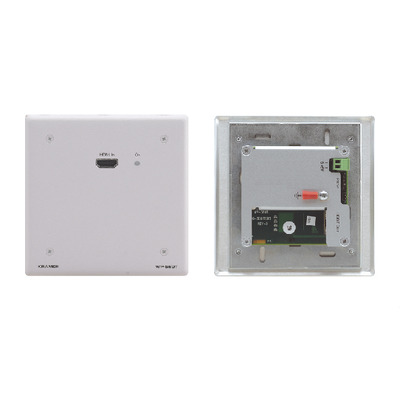 Kramer Electronics Active Wall Plate - HDMI over HDBaseT Twisted Pair Transmitter Wandzender - Wit