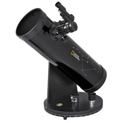 National geographic telescoop: 114/500 Compact - Zwart