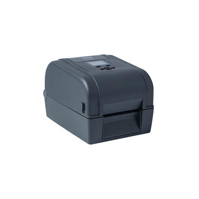 Brother 4IN TT/ DT LABEL/RECEIPT PRNT LAN WIFI BT RFID 300DPI EU IN- Labelprinter - Zwart