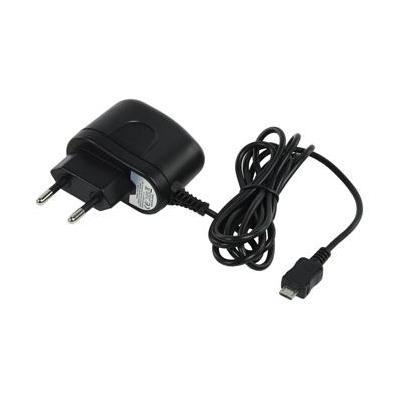 König Micro USB B, 5W, 1000mA, zwart Oplader