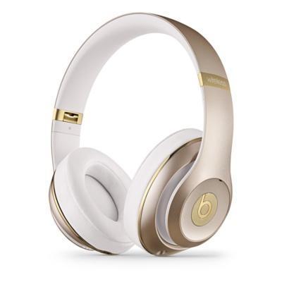 Apple headset: Beats by Dr. Dre Studio, Wireless, Over-Ear, 3.5mm/Bluetooth, 20Hz-20kHz - Goud, Wit