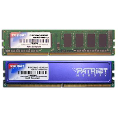 Patriot Memory PSD34G13332 RAM-geheugen