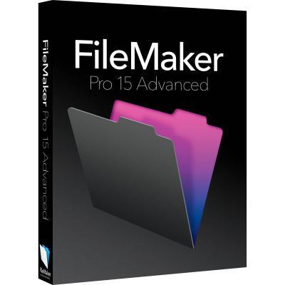 Filemaker software: Pro 15 Advanced