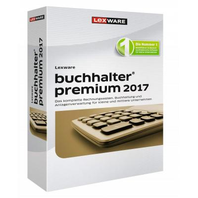 Lexware financiele analyse-software: Buchhalter Premium 2017