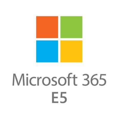 Microsoft 365 E5 (Jaarlijks) Software licentie