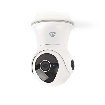 Nedis Wi-Fi smart IP-camera, Draaien/Kantelen, Full-HD 1080p, Buiten, Waterbestendig Beveiligingscamera - Zwart, .....