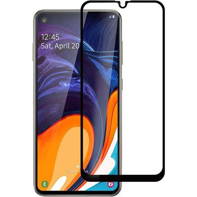 ESTUFF Samsung Galaxy A60 Screen protector - Zwart,Transparant