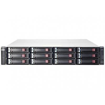 Hewlett Packard Enterprise MSA 1040 2-port SAS Dual Controller LFF SAN - Zwart, Grijs