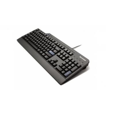 Lenovo toetsenbord: USB Smartcard Keyboard - Zwart