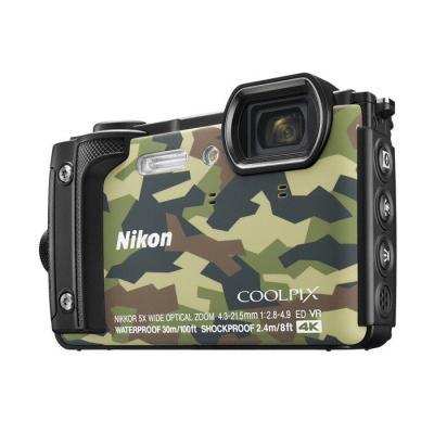 Nikon digitale camera: COOLPIX W300 - Camouflage
