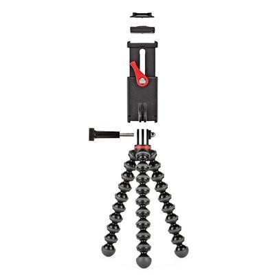 Joby tripod: GripTight Action Kit - Zwart, Rood