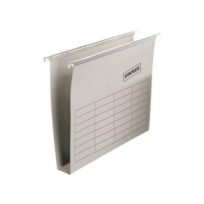 Staples hangmap: Hangmap SPLS folio 30mm bodem grijs/ds25