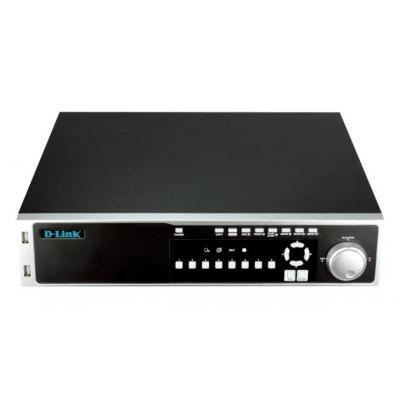 D-link digitale video recorder: JustConnect - Zwart