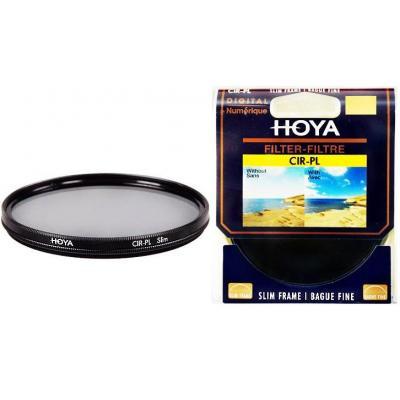 Hoya camera filter: 43mm Slim Cir-Pl - Zwart