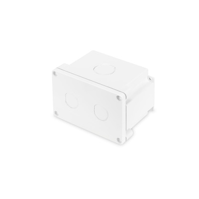 Digitus IP67 surface mounting box, polycarbonate resin UL94V-0 thermoplastic, punch-out holes M16/M32, wh .....