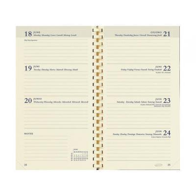 Brepols agenda: Interieur Interplan spir. 6t