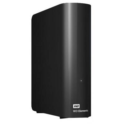 Western digital externe harde schijf: Elements Desktop 4TB - Zwart