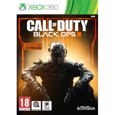 Activision game: Call of Duty, Black Ops 3  Xbox 360