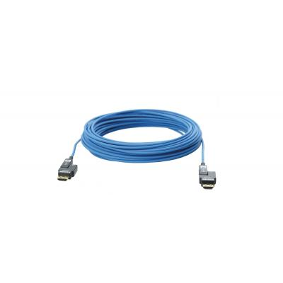 Kramer Electronics Active Optical High–Speed Pluggable HDMI Cable, 70 m, Blue HDMI kabel - Blauw