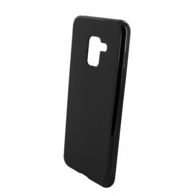 Mobiparts Classic TPU Case Samsung Galaxy A8 Plus (2018) Black Mobile phone case - Zwart