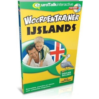 Eurotalk educatieve software: Woordentrainer, IJslands