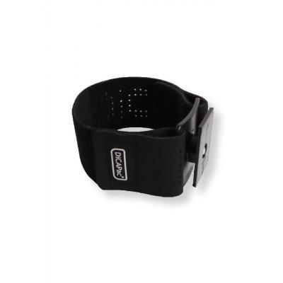 Dicapac mobile phone case: DP-1A Sport-Fit, Black - Zwart