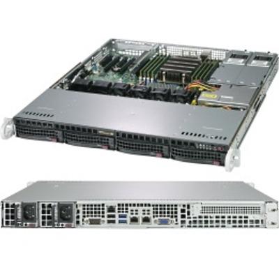 Supermicro A+ Server 1013S-MTR Server barebone - Zwart, Grijs