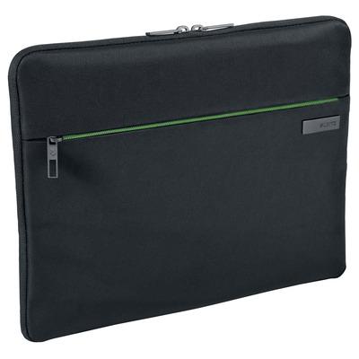 "Leitz Complete 13.3"" Laptop hoes, 260 g, Zwart Laptoptas - Zwart, Groen"