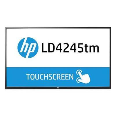 Hp touchscreen monitor: LD4245tm - Zwart