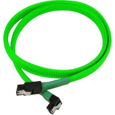 Nanoxia SATA 6GB/s, 0.6m ATA kabel - Groen