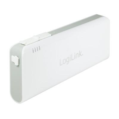 LogiLink PA0124 Powerbank - Wit