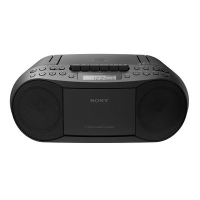 Sony CD speler: CFD-S70 - Zwart