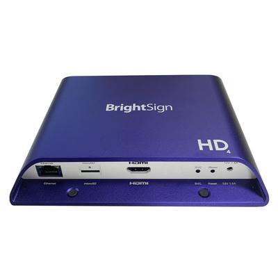 BrightSign 4K, 1080p, FullHD, H.265, HTML5, HDMI, Gigabit Ethernet Mediaspeler - Violet