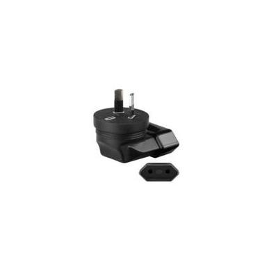 Microconnect Power Adapter Euro Jack Stekker-adapter - Zwart