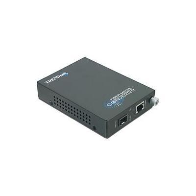 Trendnet media converter: Intelligent 1000Base-T - 1000Base-FX Single/Multi Mode RJ-45 Fiber Converter