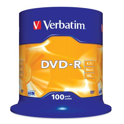 Verbatim DVD-R Matt Silver DVD