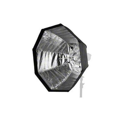 Walimex softbox: easy Octagon Umbrella Softbox Ø90cm - Zwart, Wit