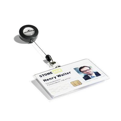 Durable 8016 Badge - Transparant
