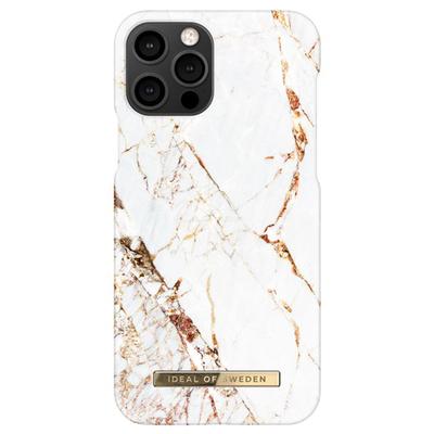 IDeal of Sweden Fashion Backcover iPhone 12 (Pro) - Carrara Gold - Carrara Gold Accessoire