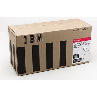 IBM Return Program Cartridge, Cyan, 6000 pages Toner - Cyaan