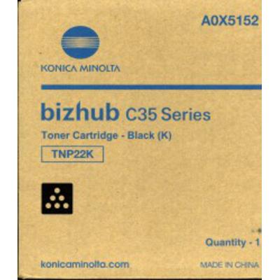 Konica Minolta TNP22K Toner - Zwart