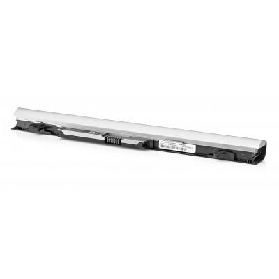 Hp batterij: RA04 notebookbatterij - Zilver