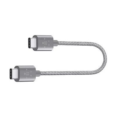 Belkin USB kabel: MIXIT↑ USB-C/USB-C 0.15m - Grijs