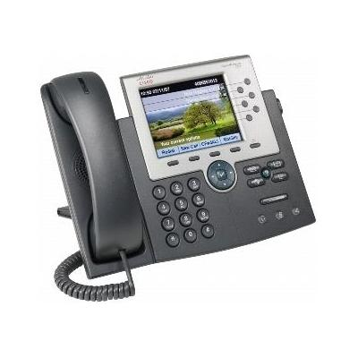Cisco dect telefoon: Unified IP Phone 7965G - Grijs