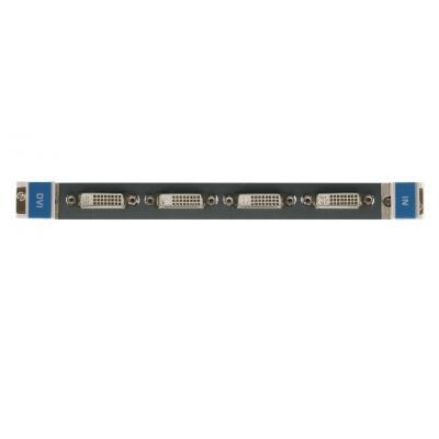 Kramer Electronics Kramer DVI-IN4-F32 Input Card Digitale & analoge i/o module - Zwart