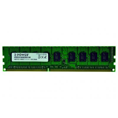 2-power RAM-geheugen: 4GB DDR3L 1600MHz ECC + TS UDIMM Memory - replaces A2Z48AA