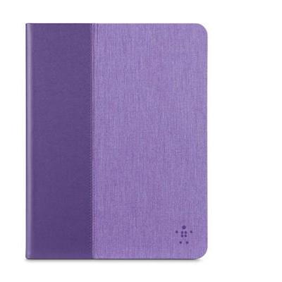 Belkin tablet case: Chambray Cover Paars voor iPad Air 2  - Paars, Violet