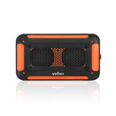 Veho draagbare luidspreker: Vecto - Zwart, Oranje